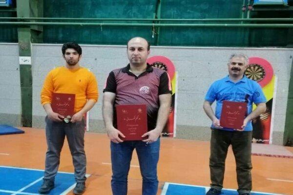 قهرمانی کردستان در مسابقات دارت چند جانبه غرب کشور