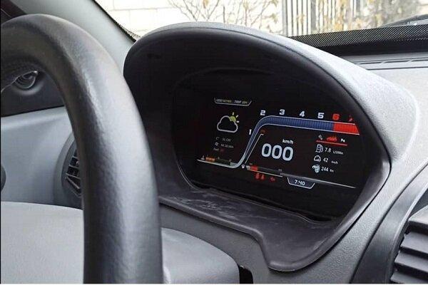 داشبورد دیجیتال خودرو ساخته شد