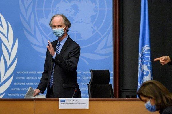 خاتمه بی نتیجه دور پنجم مذاکرات قانون اساسی سوریه در ژنو
