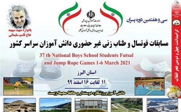 نتایج رقابت های طناب زنی مجازی پسران دانش آموز اعلام شد