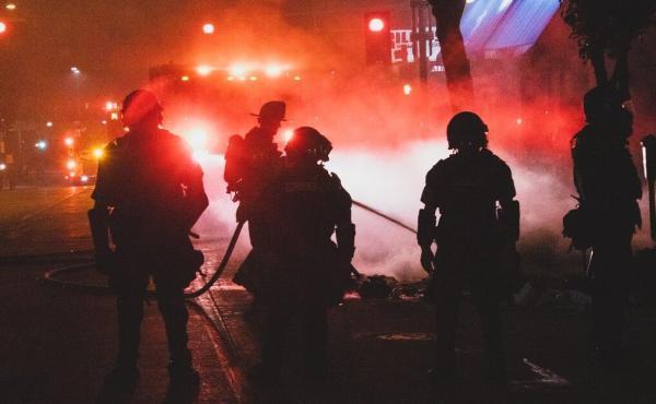 خشم مردم آمریکا از قتل یک سیاه پوست دیگر به دست پلیس
