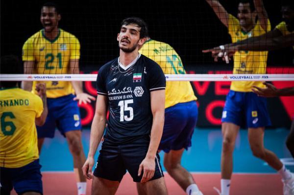 شکست تیم ملی ایران برابر برزیل، نمایش پرنوسان شاگردان آلکنو
