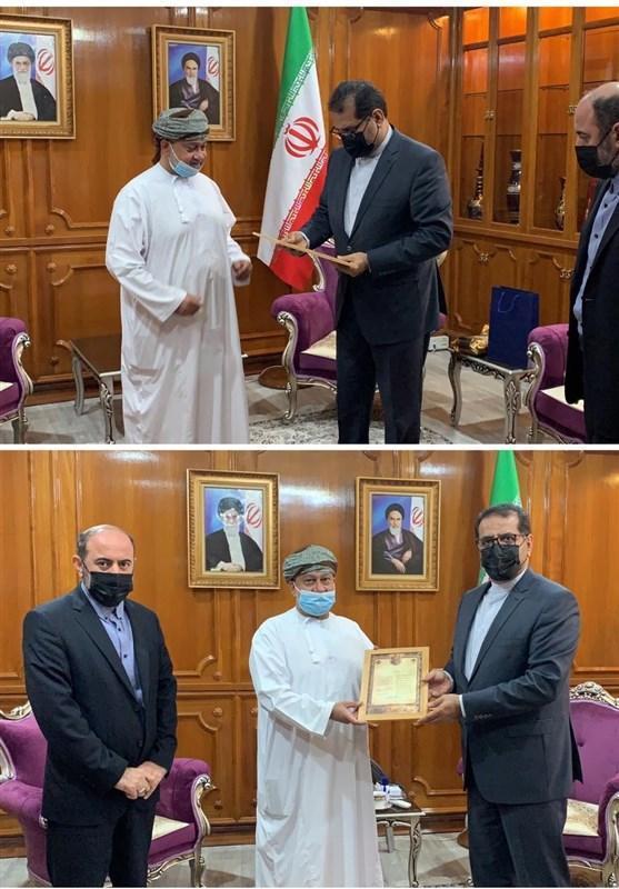 تقدیر از مروج نمونه فرهنگ رضوی در عمان