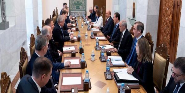 ملاقات فرستاده پوتین با بشار اسد