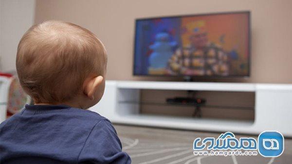 بچه ها زیر دوسال تلویزیون نبینند