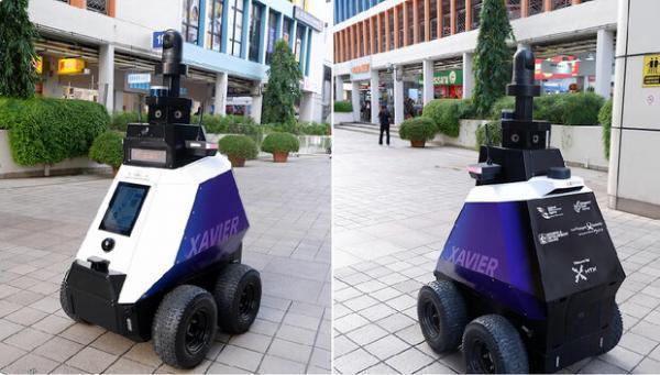 رباتی که رفتارهای غیرقانونی را ردیابی می نماید