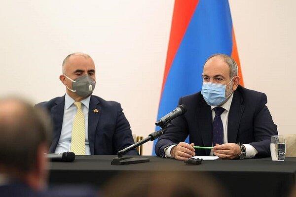 تور ارزان ارمنستان: پاشینیان: ایران برای ارمنستان راه زندگی محسوب می گردد